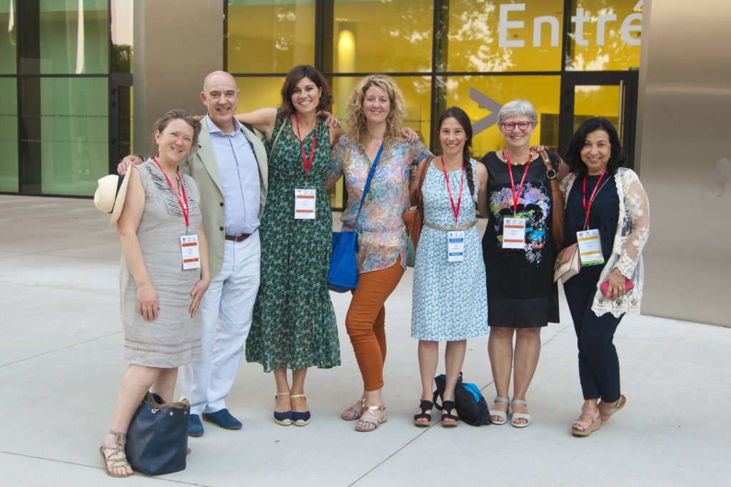 Spécialistes de la thérapie EMDR réuni lors de la conférence EMDR Europe.