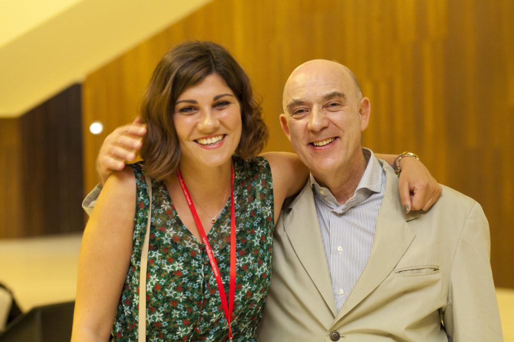 Roxanne Rossi et Martin Teboul lors de la conférence EMDR pour Biopsyfund.