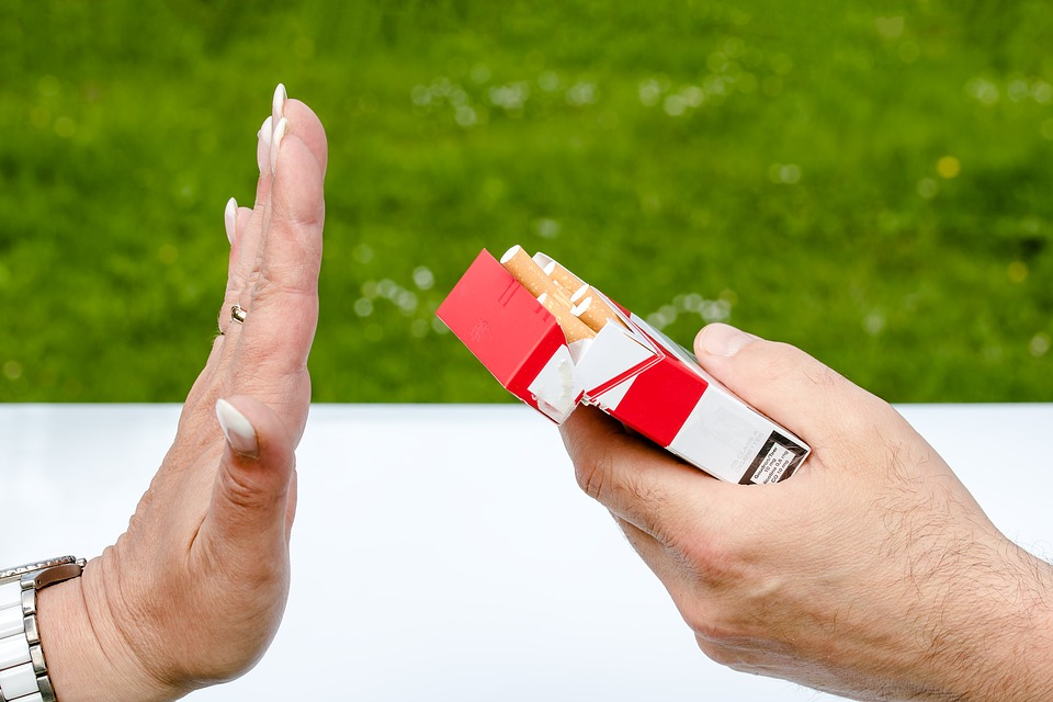 Arrêter la cigarette.
